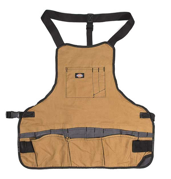 tool apron for woodworking